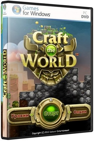 Craft The World скачать торрент игру на пк, видео обзор прохождения на видео