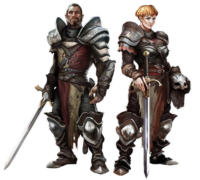 Игра Drakensang online класс воин дракона