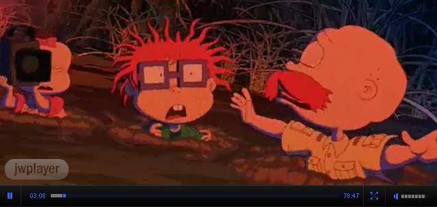 Смотреть мультфильм Карапузы встречают Торнберри /Rugrats meets Tornberrys 2003