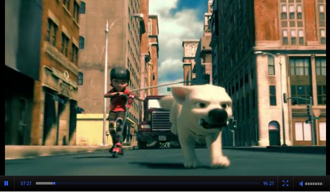 Смотреть онлайн мультфильм Вольт / Bolt комедия фэнтези США 2008