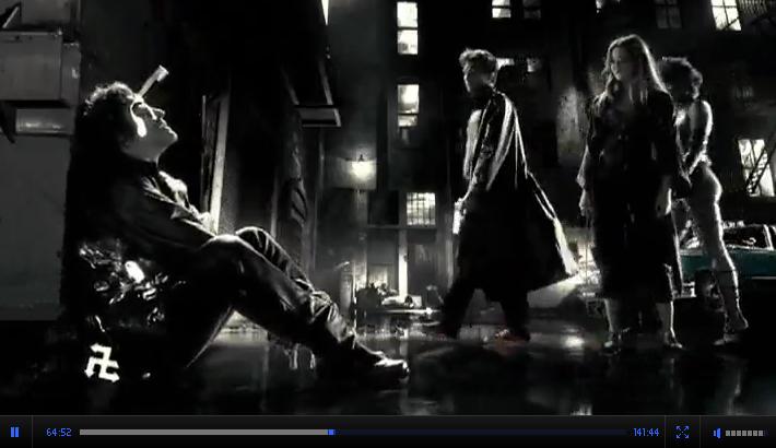 Смотреть кинофильм онлайн Город Грехов / Sin City криминал США 2005