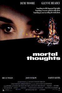 Смотреть online Смертельные мысли / Mortal Thoughts ( Брюс Уиллис ) Триллер