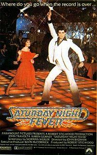 Смотреть онлайн Лихорадка в субботу вечером / Saturday Night Fever Мелодрама Джон Траволта 1977