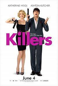 Смотреть онлайн голливудский комедийный фильм - Киллеры (2010) HD качество