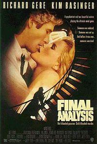 Смотреть фильм Окончательный анализ/ Final Analysis онлайн в хорошем качестве 1992 США Триллер