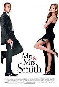 Смотреть онлайн мелодраму в хорошем качестве - Мистер и миссис Смит (2006)