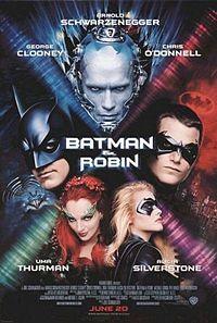 Смотреть онлайн Бэтмен и Робин / Batman & Robin Фантастический боевик 1997 Джордж Клуни