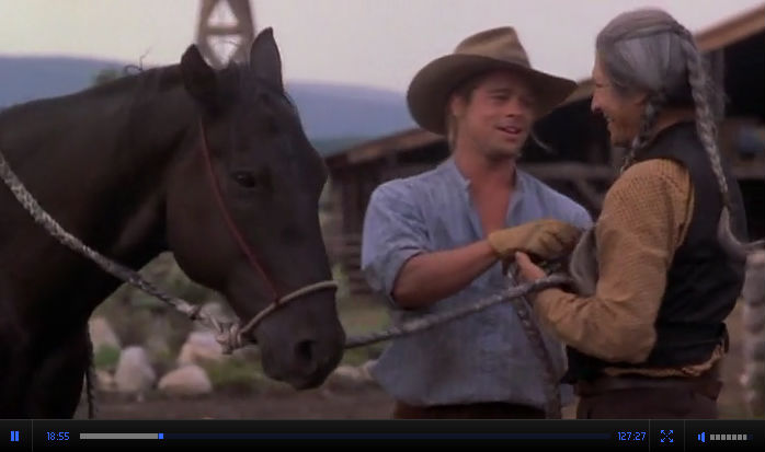 Смотреть онлайн Легенды осени / Legends of the Fall Драма-Вестерн 1994 США Брэд Питт качество