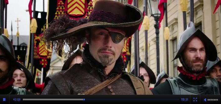 Смотреть онлайн Мушкетёры в 3D / The Three Musketeers Приключения 2011 Милла Йовович Пол У. С. Андерсон