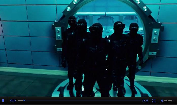Смотреть онлайн Ультрафиолет / Ultraviolet Фантастический боевик 2006 США Милла Йовович