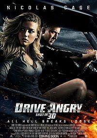 Смотреть кинофильм онлайн Сумасшедшая езда / Drive Angry 3D Боевик 2011 Николас Кейдж
