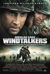 Смотреть кинофильм Говорящие с ветром / Windtalkers Военный фильм Николас Кейдж 2002 качество