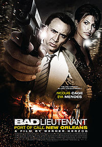 Смотреть кинофильм онлайн Плохой лейтенант / Bad Lieutenant: Port of Call New Orleans Драма 2009
