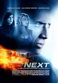 Смотреть кинофильм Пророк / Next Фантастический боевик 2007 в хорошем качестве Николас Кейдж