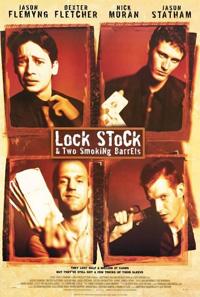 Постер к фильму Карты, деньги, два ствола на сайте можно посмотреть фильм онлайн 1998 года