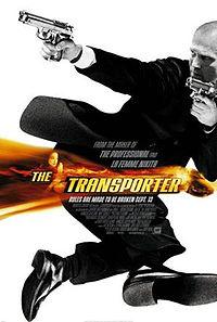 Постер к фильму Перевозчик 1 на сайте можно посмотреть фильм онлайн 2002 года Франция Джейсон Стэтхэм