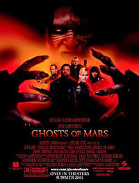 Постер к фильму Призраки Марса / John Carpenter's Ghosts of Mars на сайте можно посмотреть фильм онлайн 2001 года США