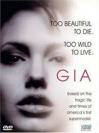 Постер к фильму Джиа - смотреть онлайн, драму с Анджелиной Джоли