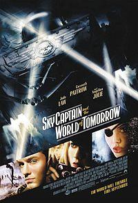 Постер к фильму Небесный Капитан и Мир Будущего на сайте можно посмотреть фильм онлайн 2004 года
