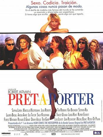 Постер к фильму Высокая мода - смотреть комедию в хорошем качестве США 1994
