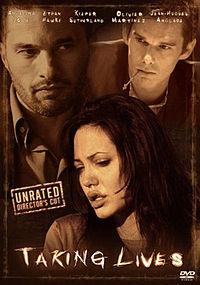 Постер к фильму Забирая жизни / Taking Lives на сайте можно посмотреть фильм онлайн 2004 года