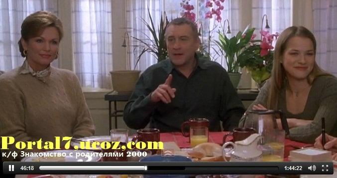 Знакомство с родителями 2000 смотреть комедию онлайн в ролях Роберт Де Ниро