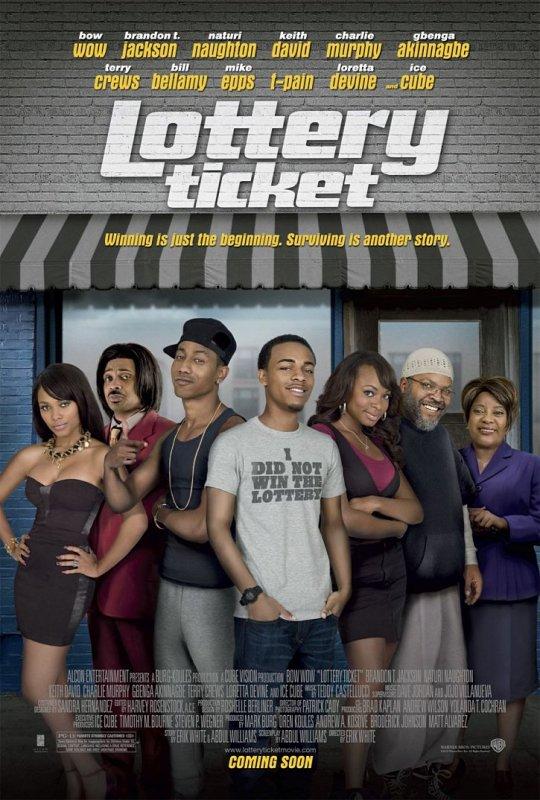 Постер к фильму Лотерейный билет - смотреть нигерскую комедию онлайн США 2010