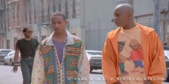 На мели (1993) черная онлайн комедия про банды нигеров