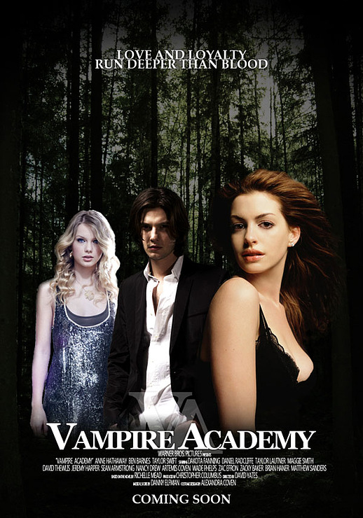 Академия вампиров (2014) официальный трейлер к мелодраме