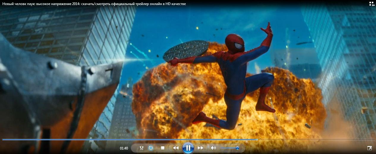 Русский трейлер: Новый человек паук - Высокое напряжение смотреть онлайн в HD качестве