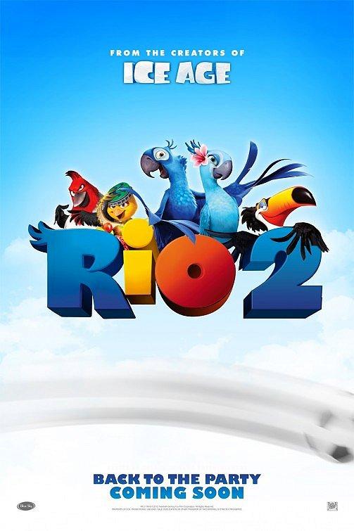 Официальное видео: трейлер к мультфильму Рио 2 (2014) смотреть онлайн бесплатно и без регистрации
